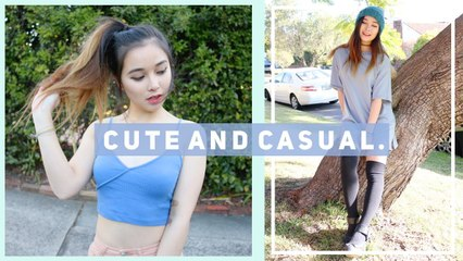 Cute and Casual Outfit Ideas LOOKBOOK ❤