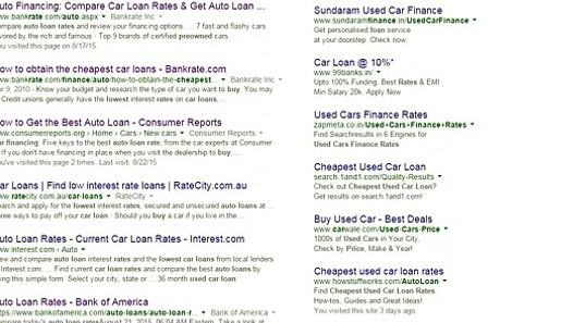 Cheapest Used Car Loan Rates Bank Of America