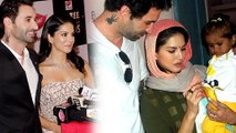 Sunny Leone And Daniel Weber BLUSH Talking About Baby Nisha Kaur Weber