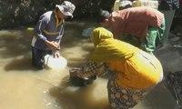 Krisis Air Bersih, Warga Konsumsi Air Sungai