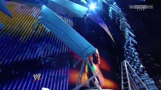 TLC 2013 John Cena vs Randy Orton, WWE World Heavyweight ...  TLC 2013 John C...