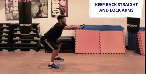 How to in 60 seconds Boxing Fitness Stretching