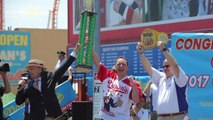 Joey Chestnut Eats 92 Tacos to Win World Taco Eating Championship