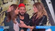 """Caroline Ithurbide embrasse Valérie Benaim en direct dans """"Touche pas à mon poste"""""""