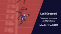 Athlé - Les grands moments : Doucouré, champion du monde du 110m haies