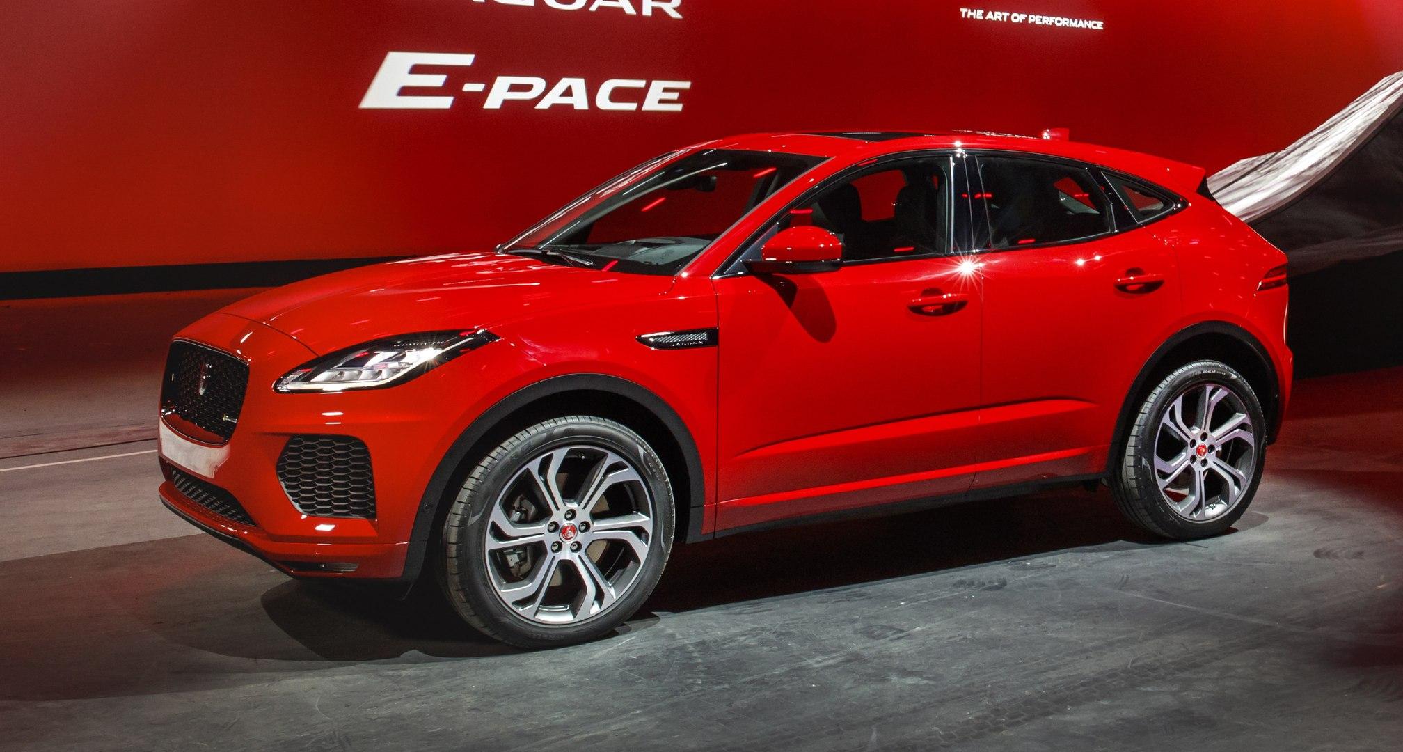 Nouveau Jaguar E-Pace (2018) : montez à bord du SUV