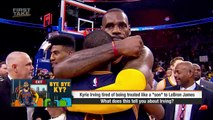 Stephen A. And Max Debate Kyrie Irving Without LeBron James   First Take   ESPN