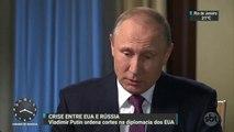 Vladimir Putin ordena cortes na diplomacia dos Estados Unidos