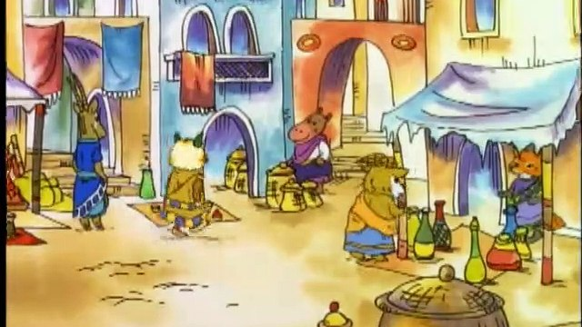 The Busy World of Richard Scarry - Forget-Bur Never Forgets