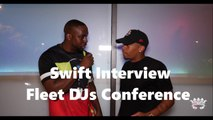 """HHV Exclusive: Swift talks """"Pull Up"""" success, Durham hip hop, Atlanta, and more with G Moniy at Fleet DJs Conference"""