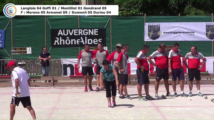 Demi-finales, 114ème Grand Prix Bouliste, Sport Boules, La Côte-Saint-André 2017
