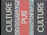 "M6 - 29 Octobre 1993 - Pubs, teasers, 6 Minutes, météo, début ""Culture Pub"""