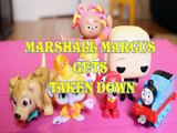 MARSHALL MARCUS GETS TAKEN DOWN PETS PARADE TALA UPSY DAISY THOMAS & FRIENDS BOSS BABY Toys , PAW PATROL , AIR RESCUE ,
