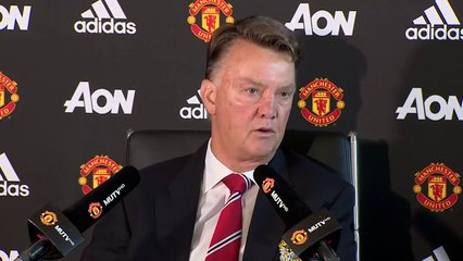 Louis van Gaal talks David de Dea signing rumours