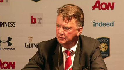 LVG forgets Chris Smalling s name!