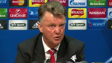 Louis van Gaal thrilled with Depay