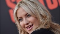 Kate Hudson Covers Her Buzz Cut With a Blonde Wig