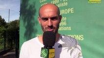 Rémy Riou remercie les supporters