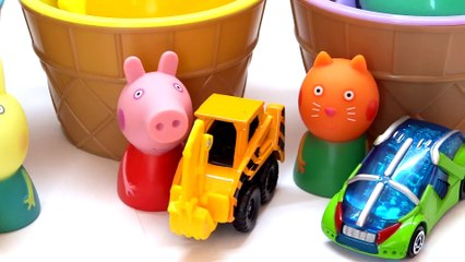 Learn Colors with Surprise Toys and Play Doh Finger Family Nursery Rhymes for Children