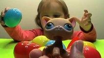 Lámparas de araña mascota gatos puntales litlest tienda de animales pequeños de la tienda de mascotas féminines lpsh litlest