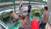 Strange Corkscrew Water Slide at West Edmonton Mall