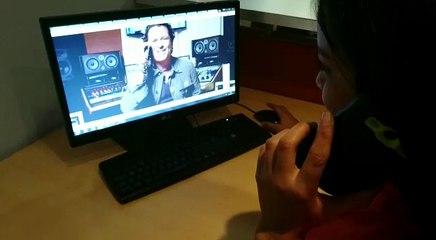 #VIRAL: Carlos Vives habla por teléfono con sus seguidores