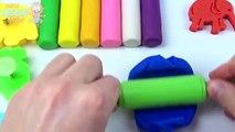 Et les couleurs crème Créatif léléphant pour amusement amusement de la glace enfants Apprendre moules porc jouer Doh peppa lion nurs