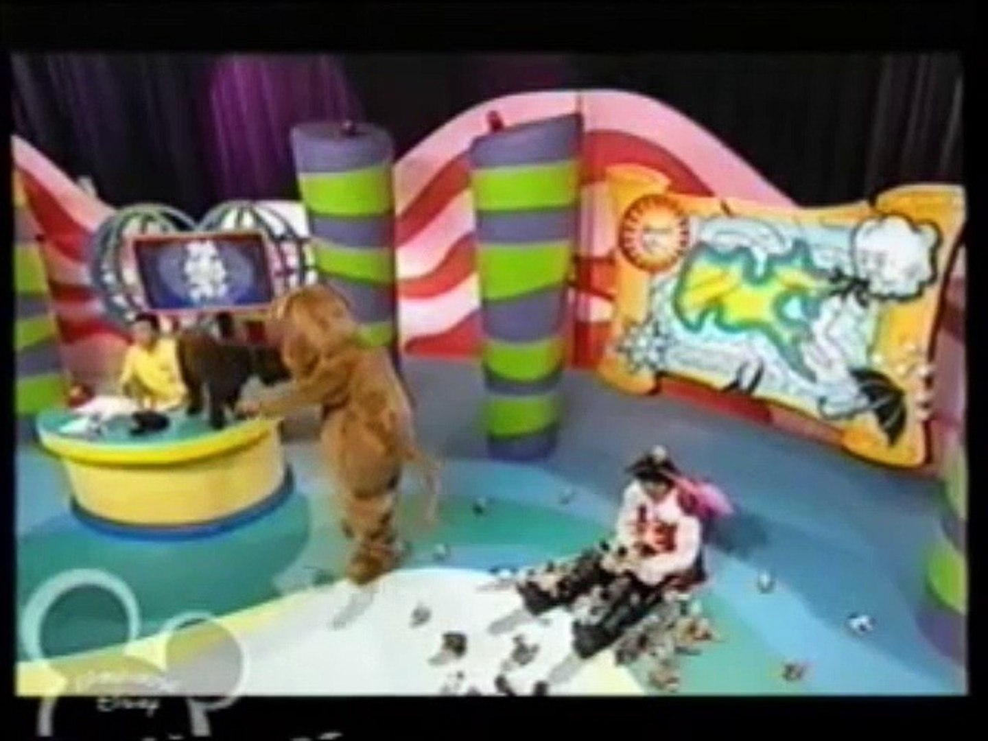 Shanna's Show & Lights, Camera, Action, Wiggles - Animals (Playhouse Disney  Airing from February 5, 2004)