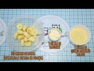 Fika Dika - Batatas assadas com parmesão