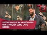 El narcotrafico gana terreno en México: David Beriain