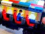 Et faire examen les trains deux et comme faire un aperçu du train Lego deux voitures lego pays BRIC wagons