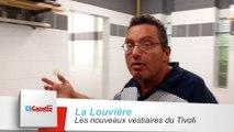 La Louvière : les nouveaux vestiaires du Tivoli
