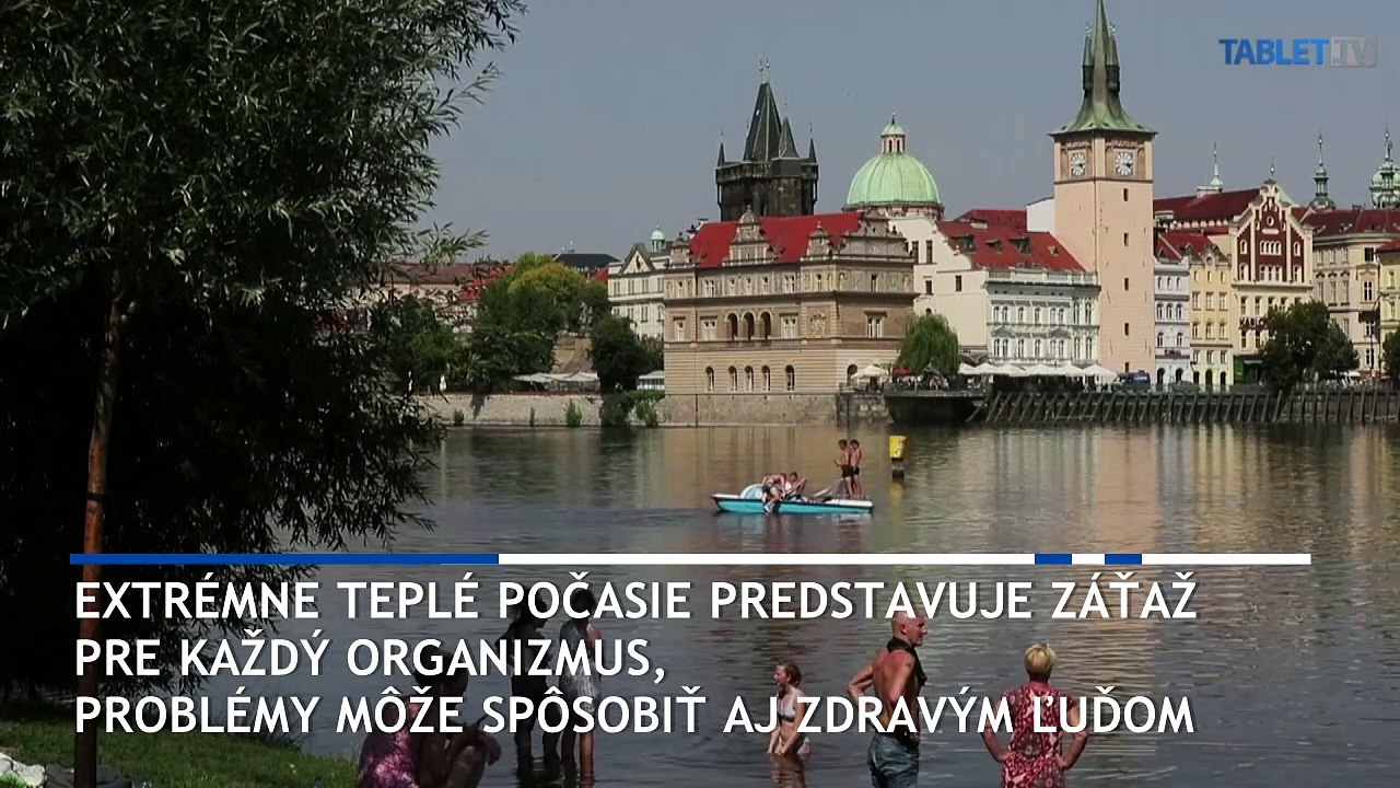 Letné horúčavy sužujú aj Českú republiku