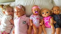 Crying Babies Dolls Nursery Rhymes Songs for Kids and Baby Born Doll