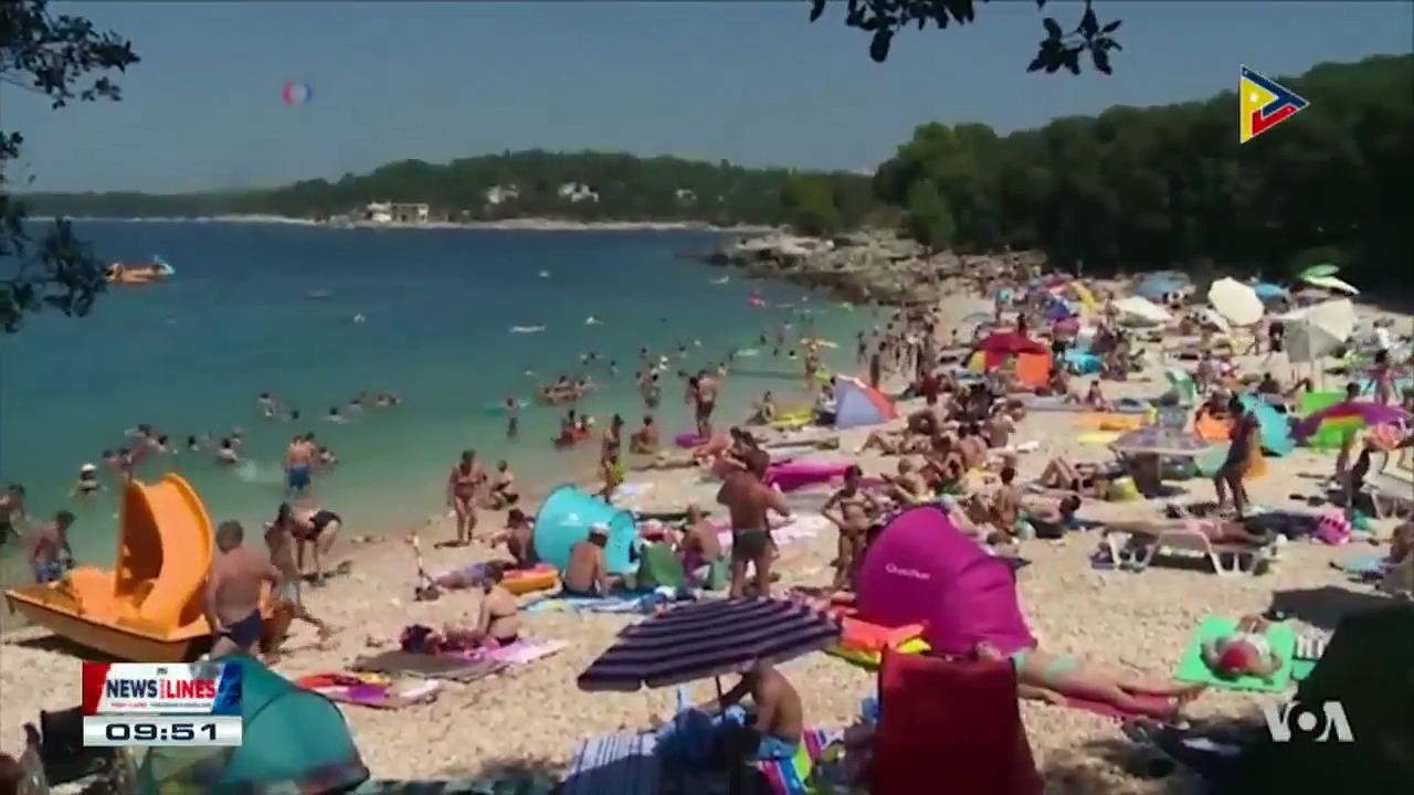 GLOBAL NEWS: Many European countries hit by sweltering heat