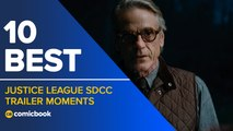 10 Best Justice League SDCC Trailer Moments