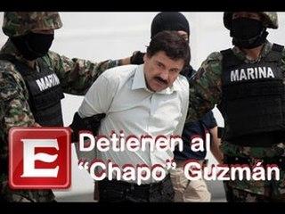 """Capturan a Joaquín """"El Chapo"""" Guzmán"""
