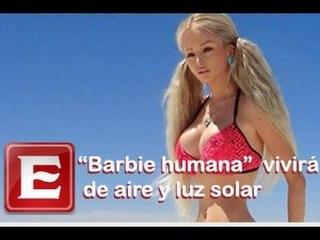 """""""Barbie humana"""" se alimentará sólo de aire y luz de sol"""