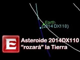 Asteroide 2014 DX110 pasará cerca de la Tierra