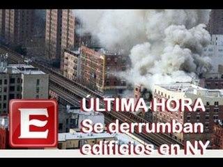 Explotan edificios en Nueva York