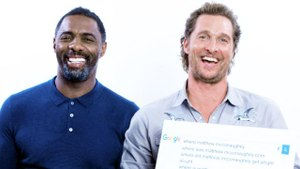 Matthew McConaughey & Idris Elba Answer the Web's Most Searched Questions