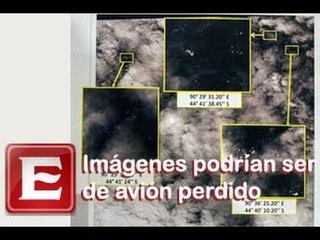 Nuevas imágenes podrían ser del avión malasio