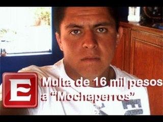 """Multan con 16 mil pesos a jóvenes """"mochaperros"""" de Querétaro"""