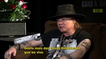 Video Guns N Roses Interview Axl Rose & Duff McKagan (2016)