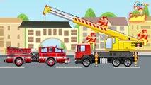 Camión de Bomberos - Carros de Colores para Niños - Videos para Niños