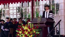 Will Ferrell sings Whitney Houstons 'I Will Always Love You to graduates