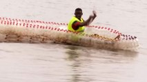 Cameroon Student Turns Used Plastic Bottles Into Fishing Boats