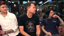 Blink 182 Awkwardly Talking About Tom DeLonge When Promoting California