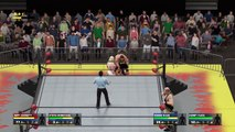 WCW2K17 April Week 4 WCW Nitro Match 6 Jeff Jarrett & Steve McMichael vs High Voltage