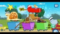 Train for kids - Hippo Train - Train Cartoons for Children - train videos - toy train ,Cartoons animated anime Tv series movies 2018